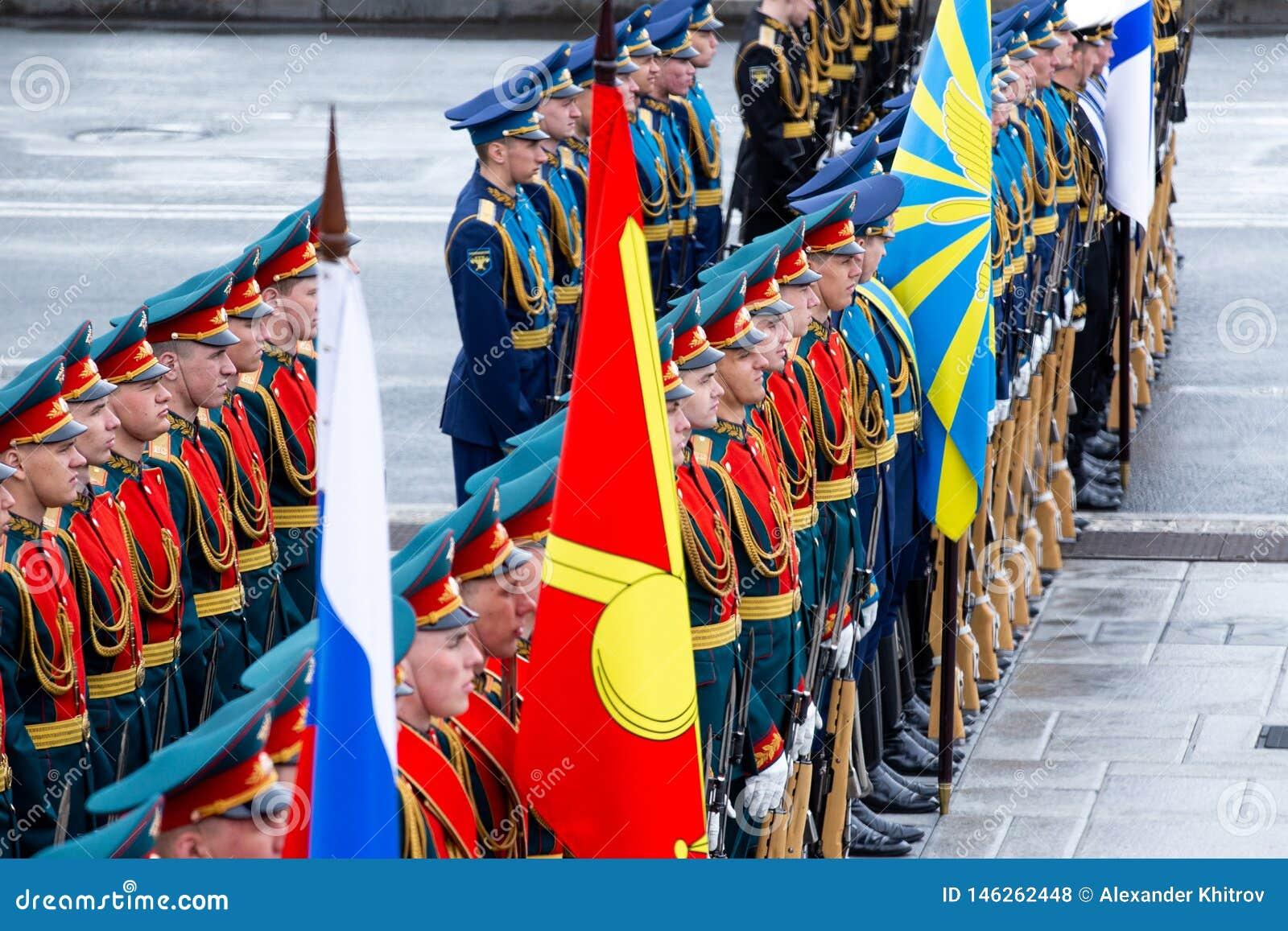 ?o?nierze honorowa gwardia prezydencka federacja rosyjska