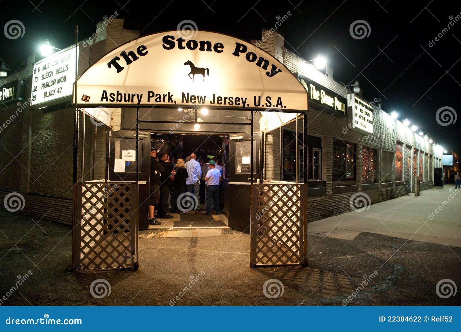O pônei de pedra