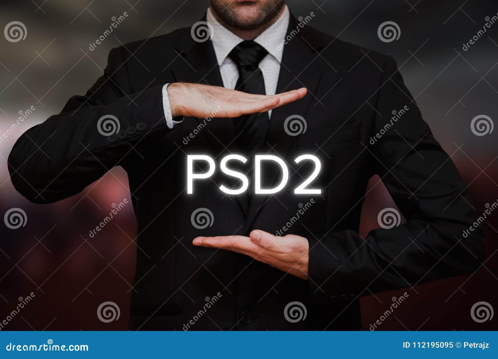 O pagamento presta serviços de manutenção à diretriz orientadora 2 PSD2