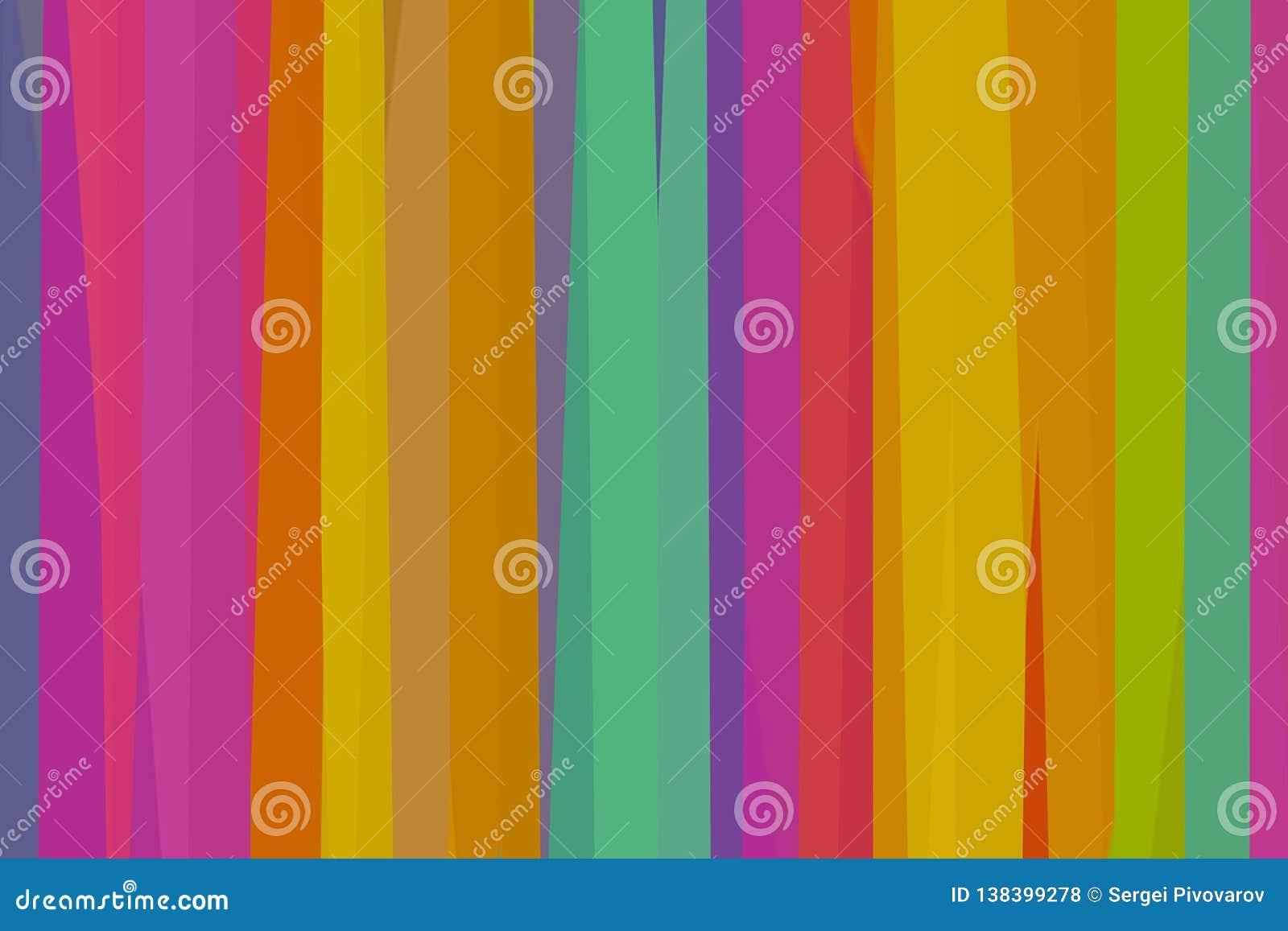 O painel lilás carmesim pastel colorido do fundo listra a arte da base amarela dos azuis celestes e a faculdade criadora colorida