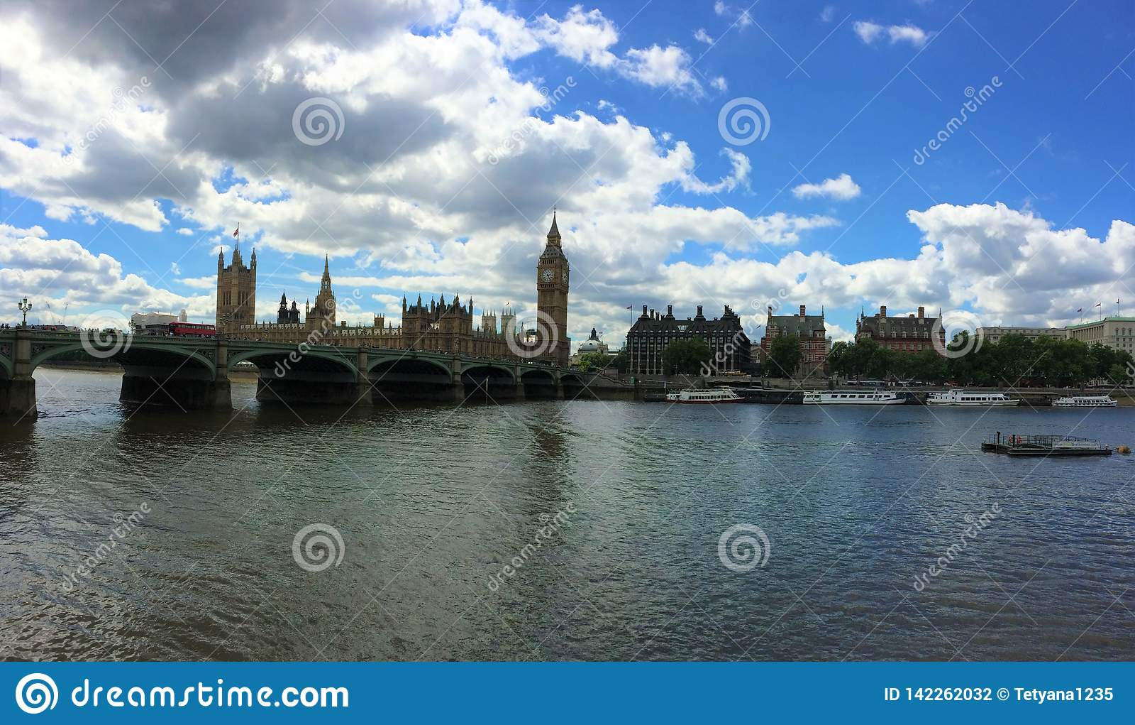 O palácio de Westminster - o parlamento do Reino Unido