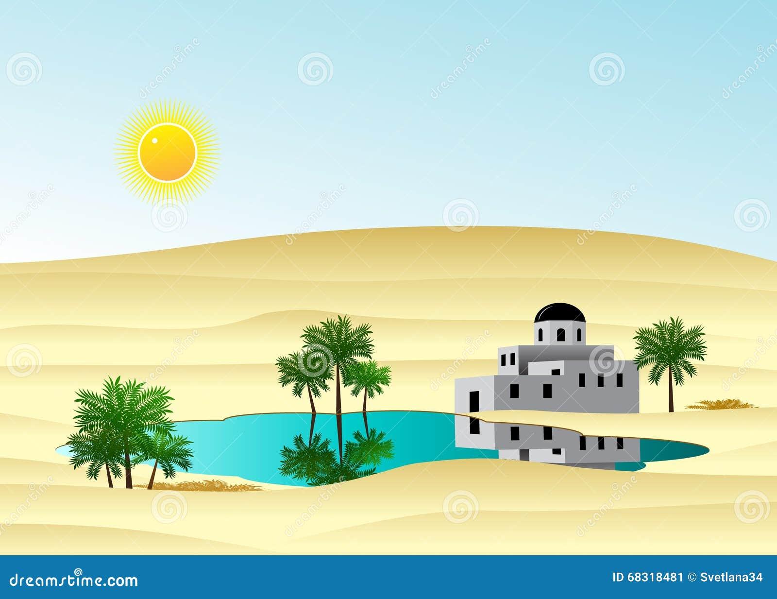 O palácio no deserto