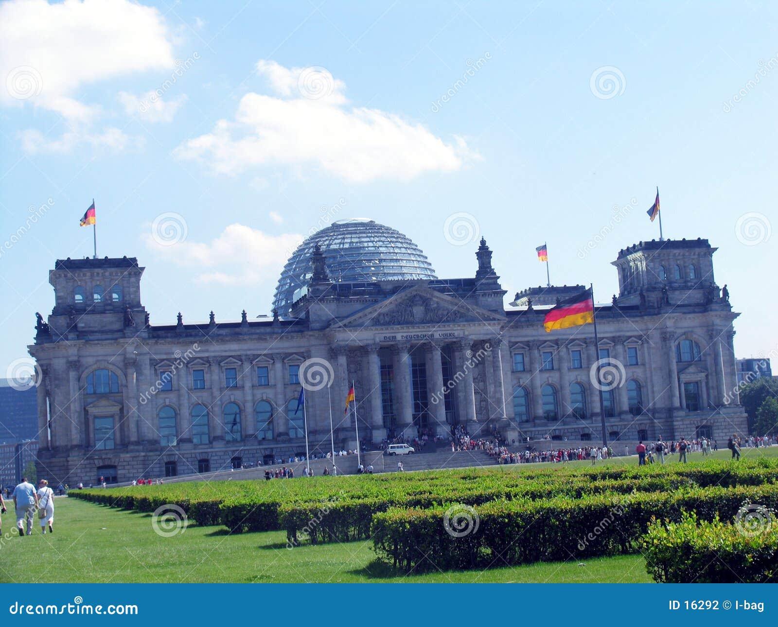 O parlamento alemão