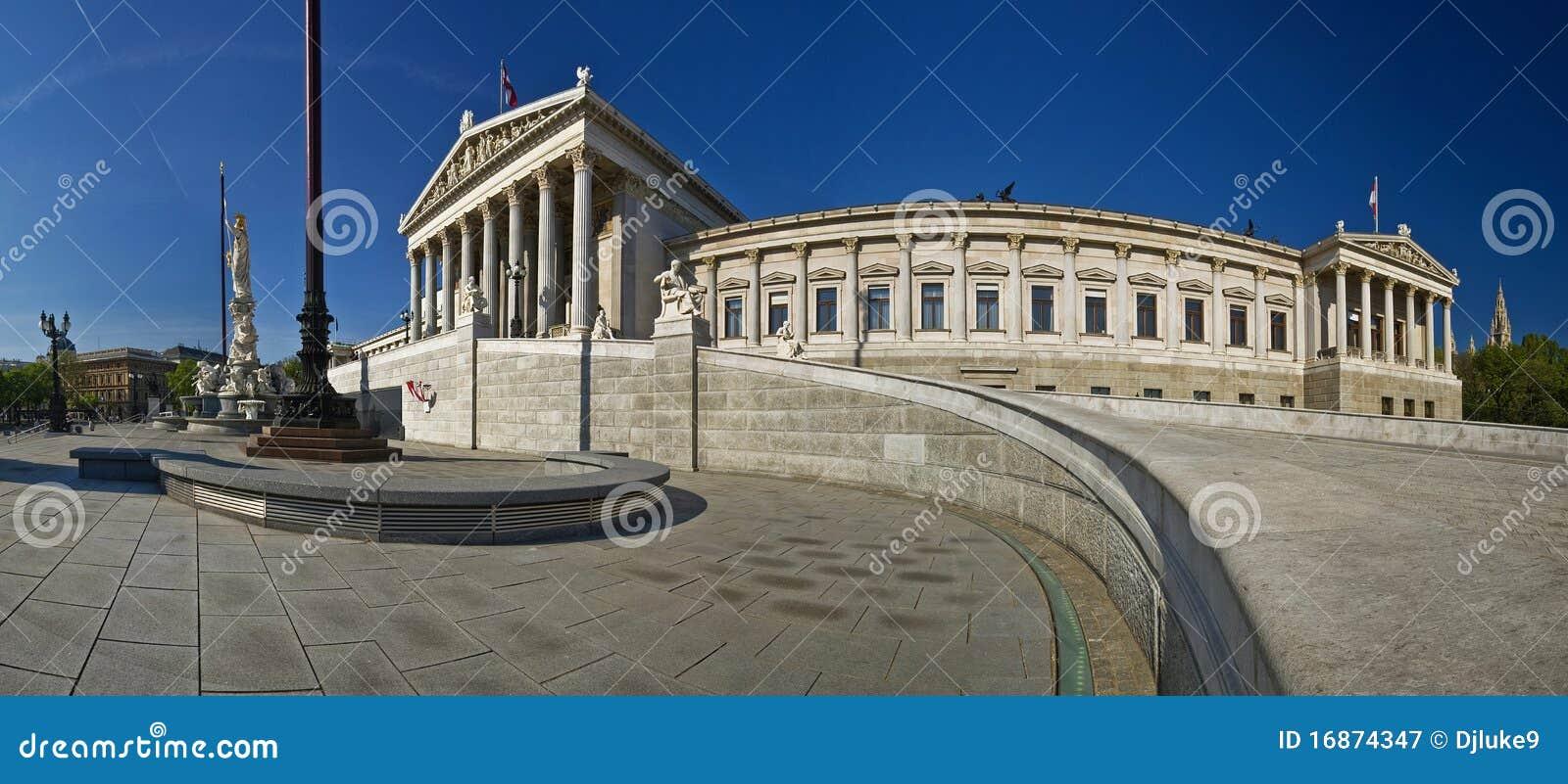 O parlamento austríaco