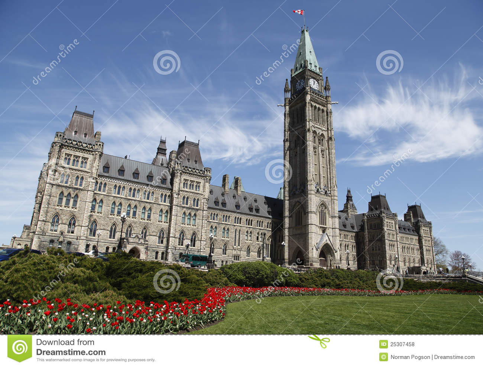 O parlamento canadense