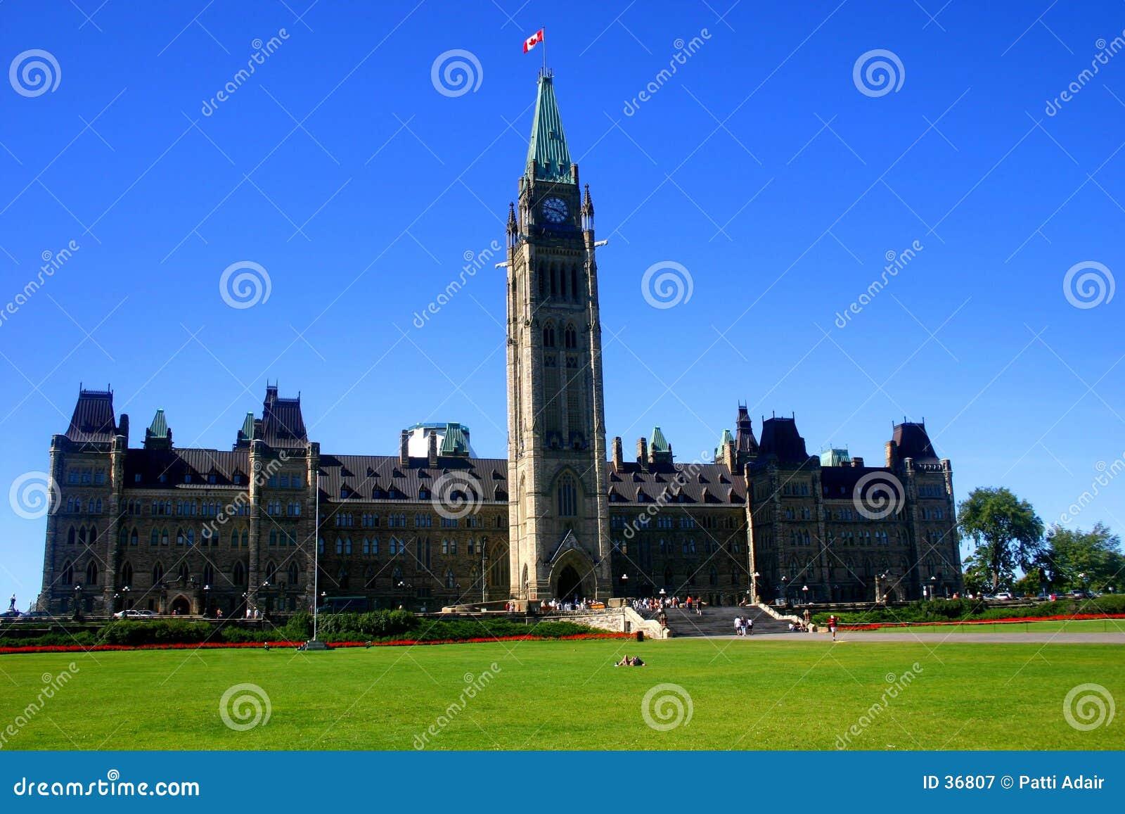 O parlamento de Canadá