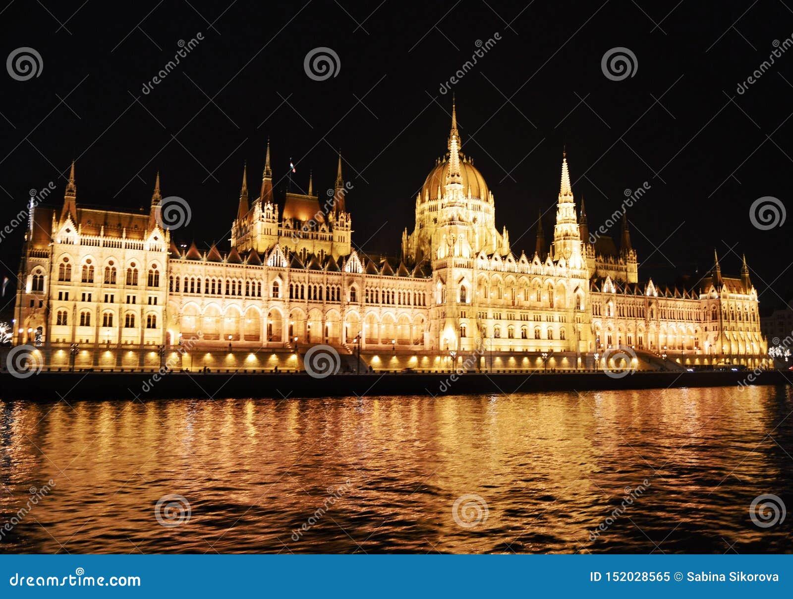 O parlamento em budapest