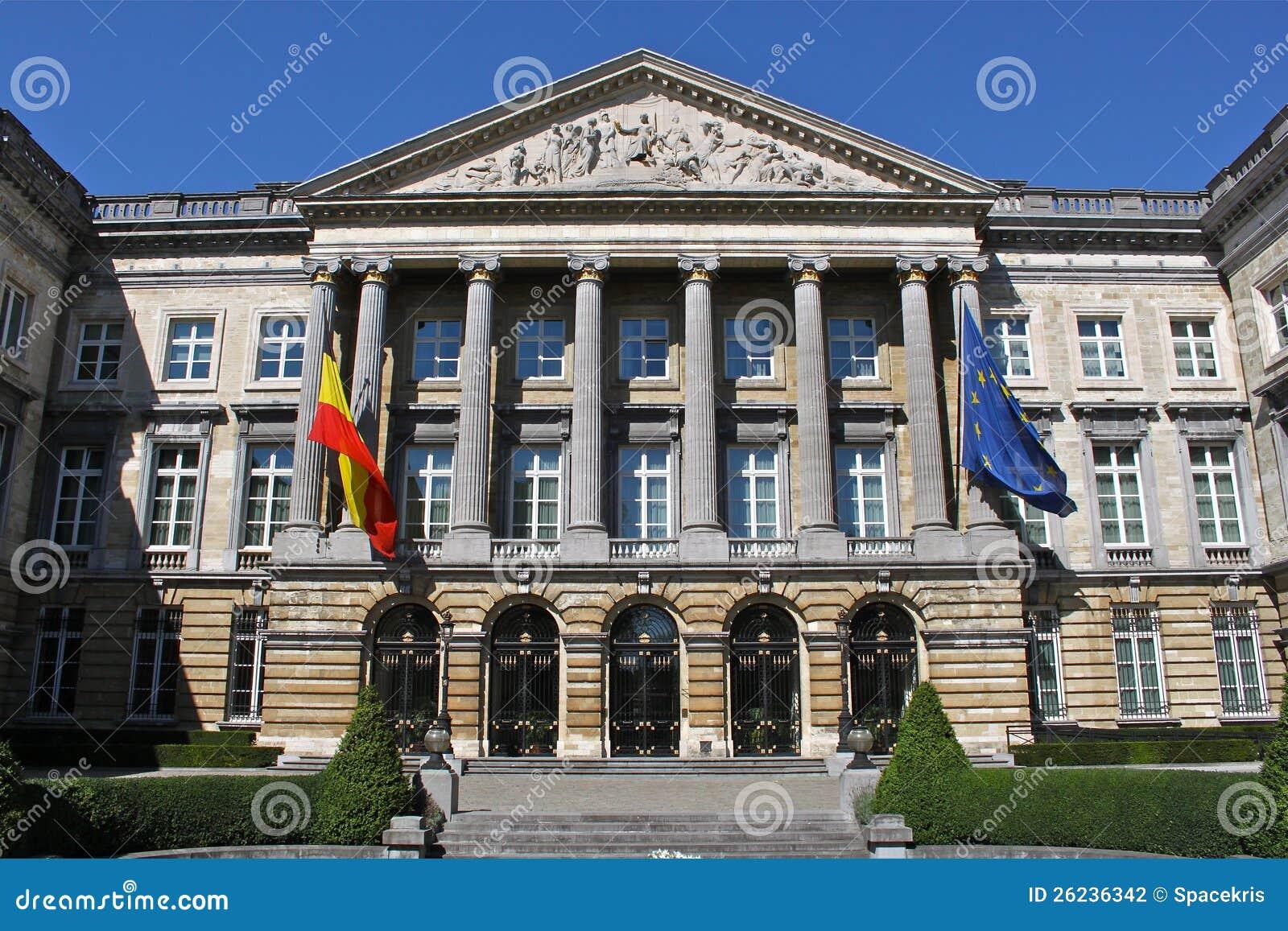 O parlamento federal belga