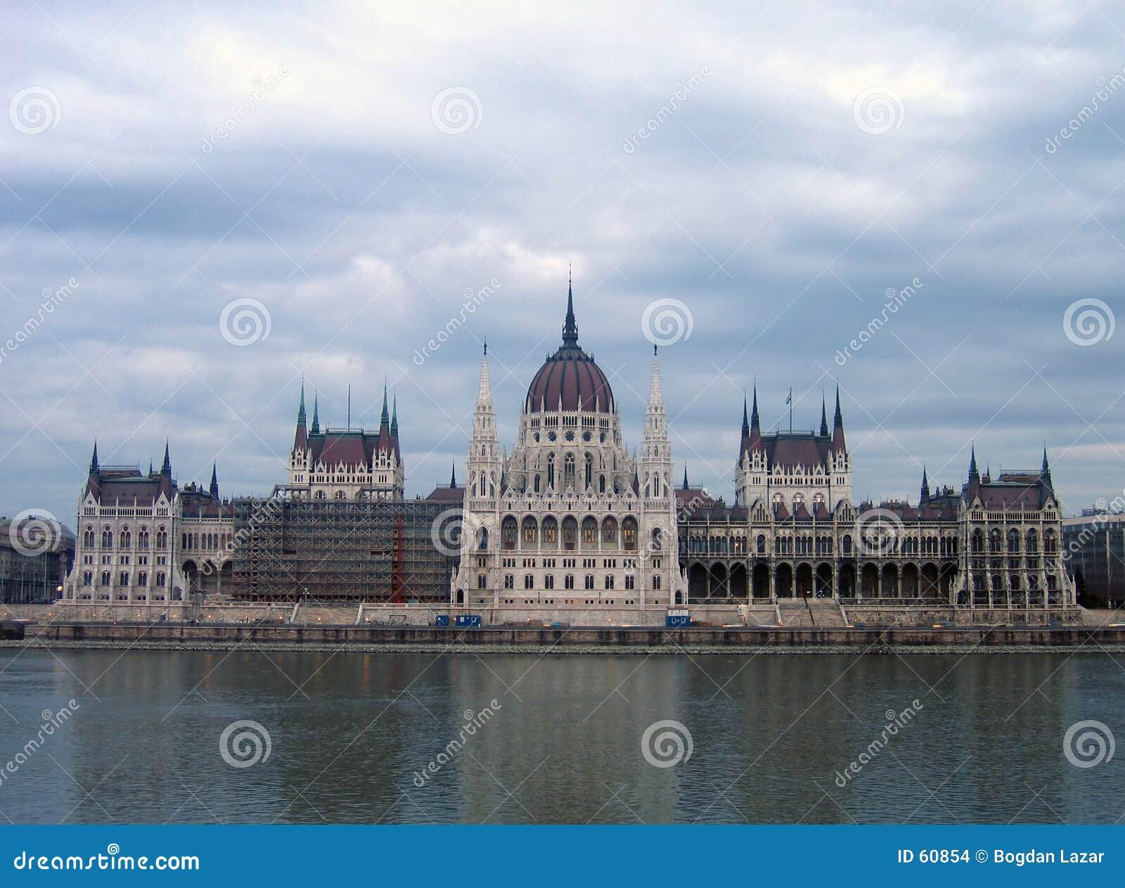 O parlamento húngaro - Budapest