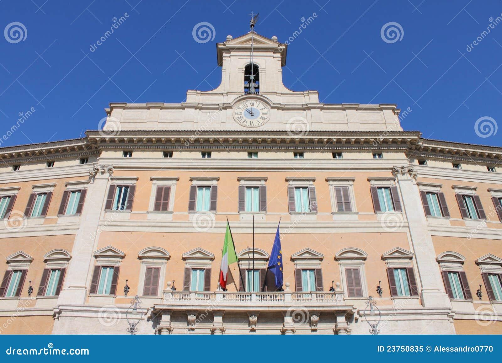 O parlamento italiano foto de stock royalty free imagem for Immagini parlamento italiano