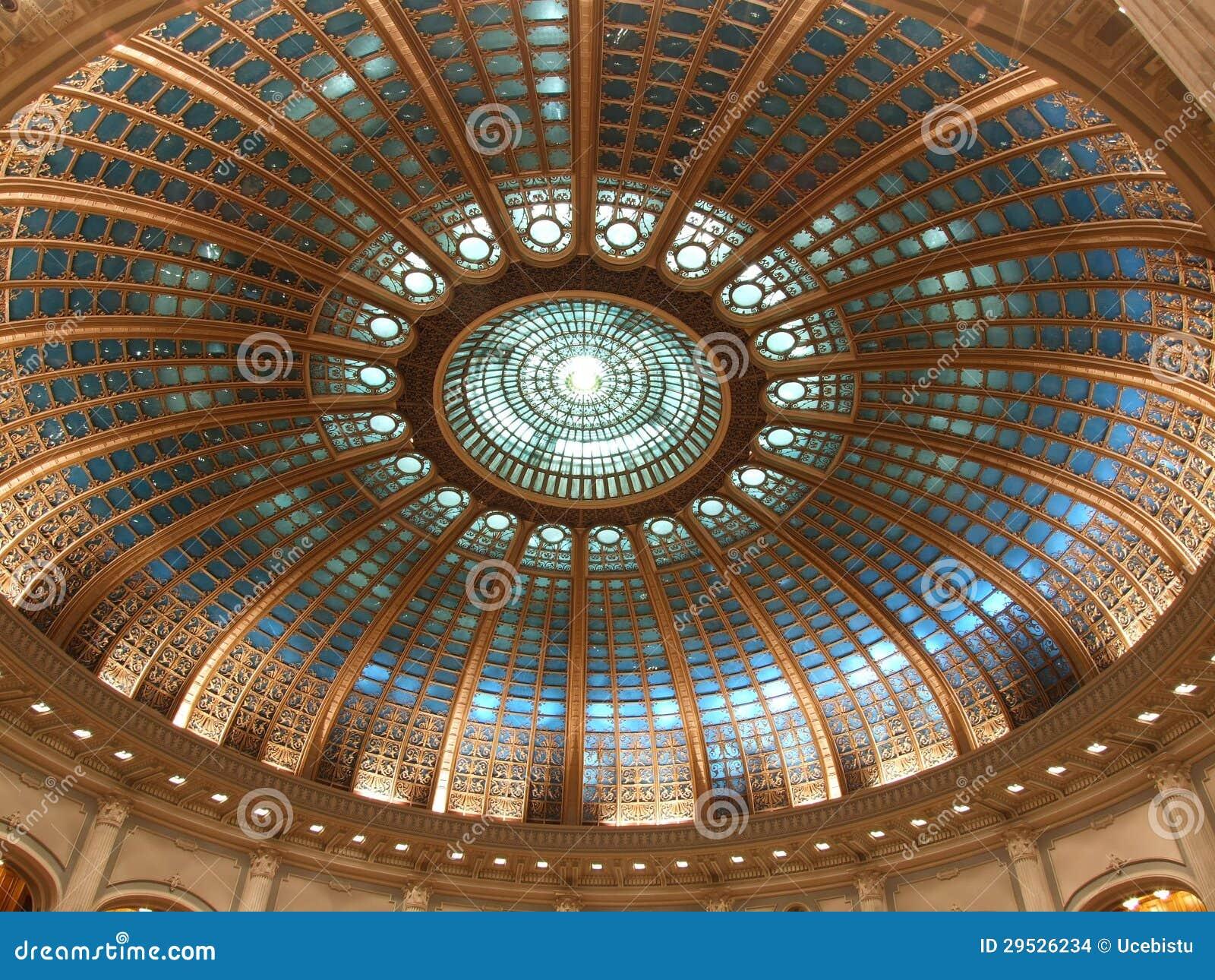 O parlamento romeno abobada
