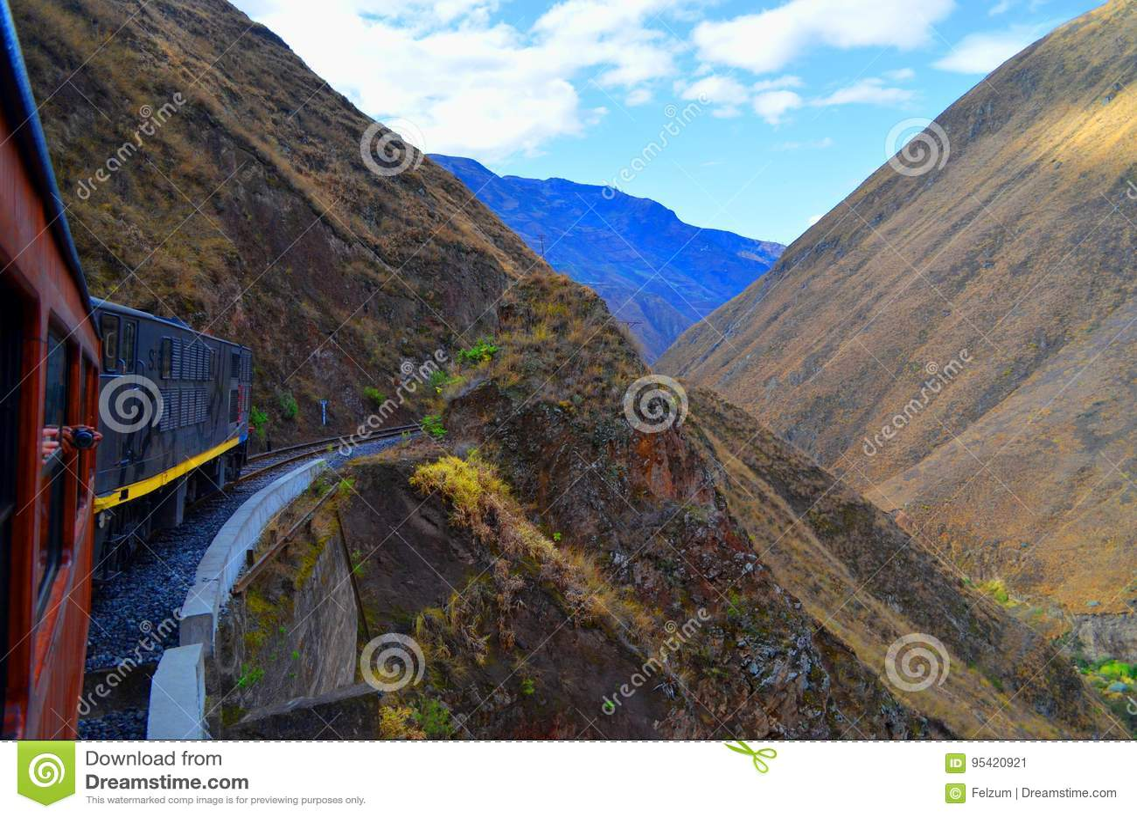 O passeio do trem do nariz do diabo, Equador