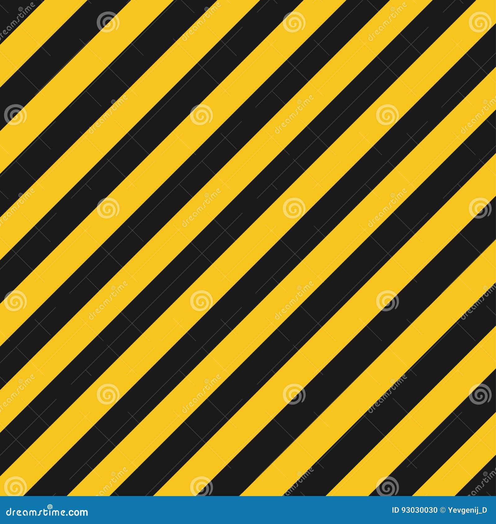 O perigo listra a textura Estrada listrada industrial, aviso do crime da construção