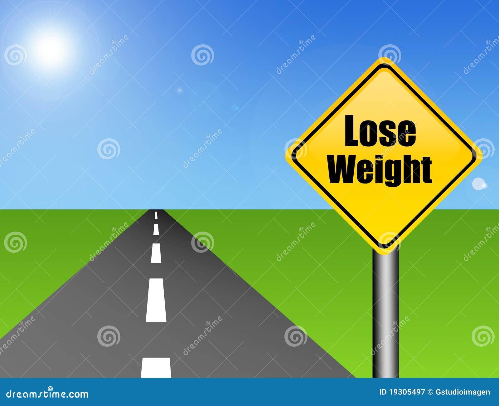 O peso do sinal perde