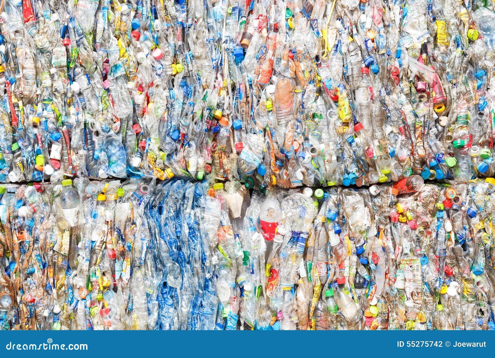 O plástico recicl