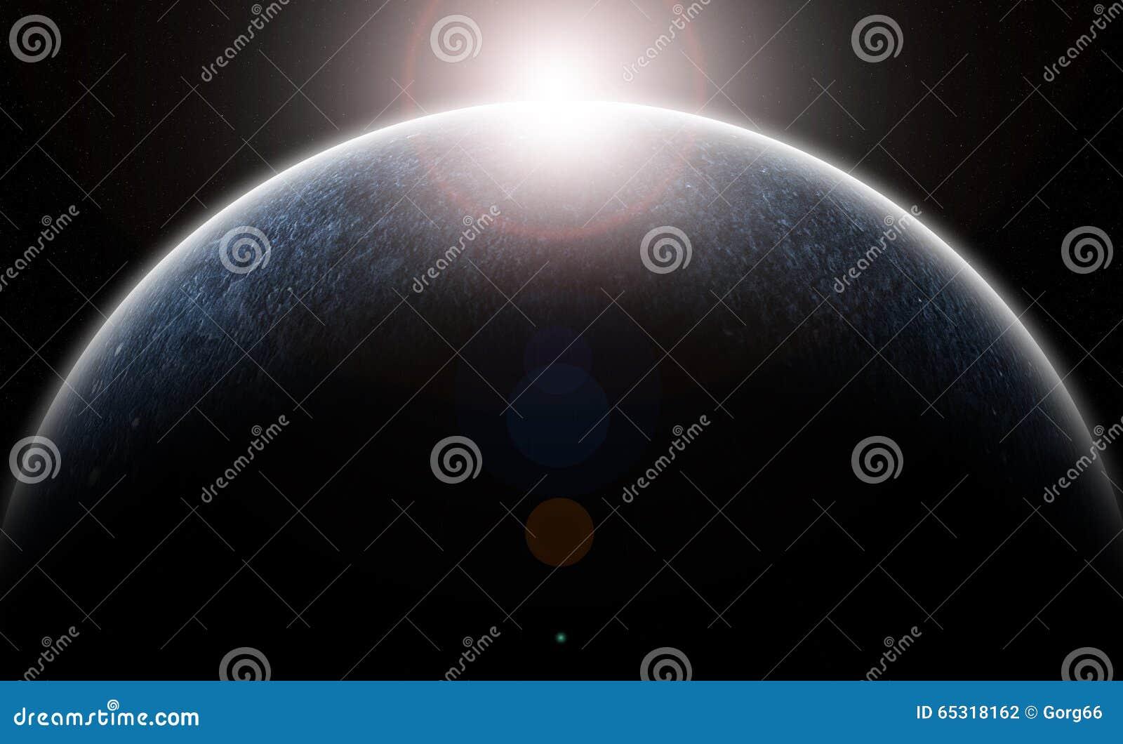 O planeta gelado