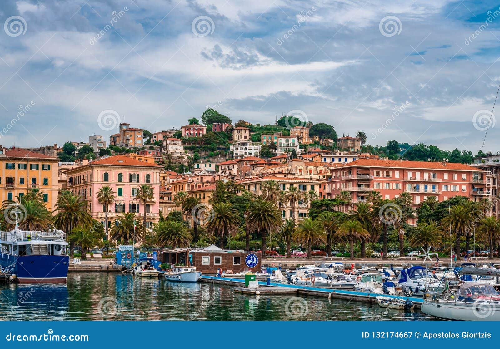 O porto do La Spezia
