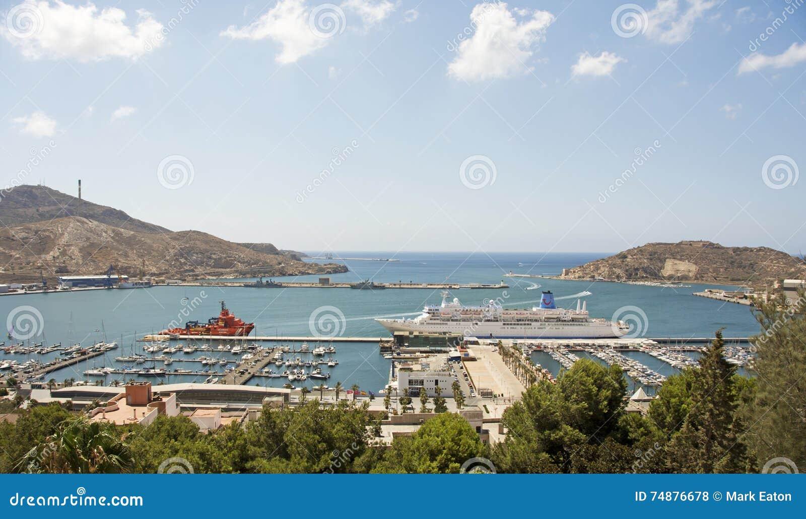 O porto em Cartagena