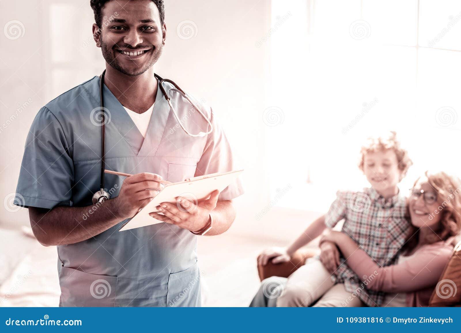 O positivo ocupou-se da irradiação profissional médica na câmera