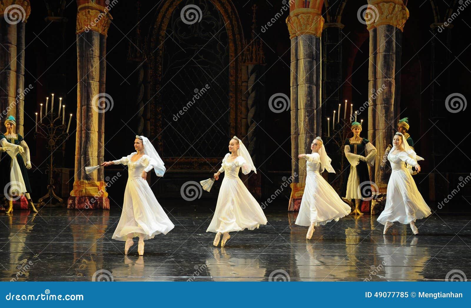 O príncipe branco do vestido- do laço do russo ato-bailado O Lago das Cisnes do mitzvah- da barra do terceiro