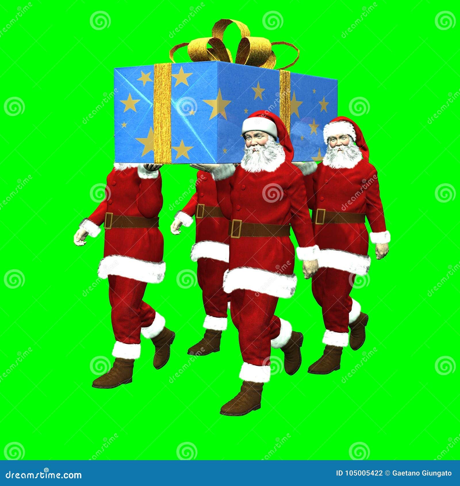 O presente super de Santa Claus