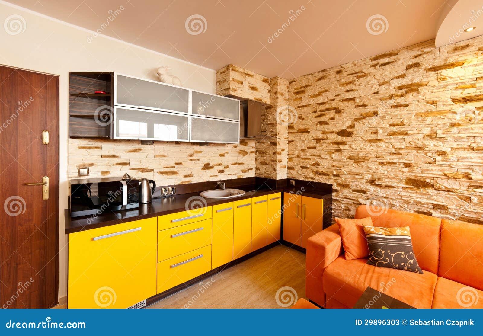 do tema com canto montou a cozinha e o arenito telhou a parede #C89E03 1300 921