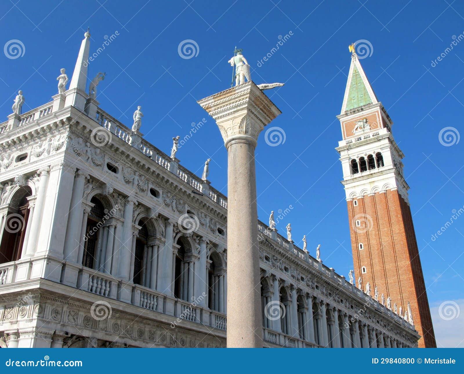 O quadrado de St Mark em Veneza
