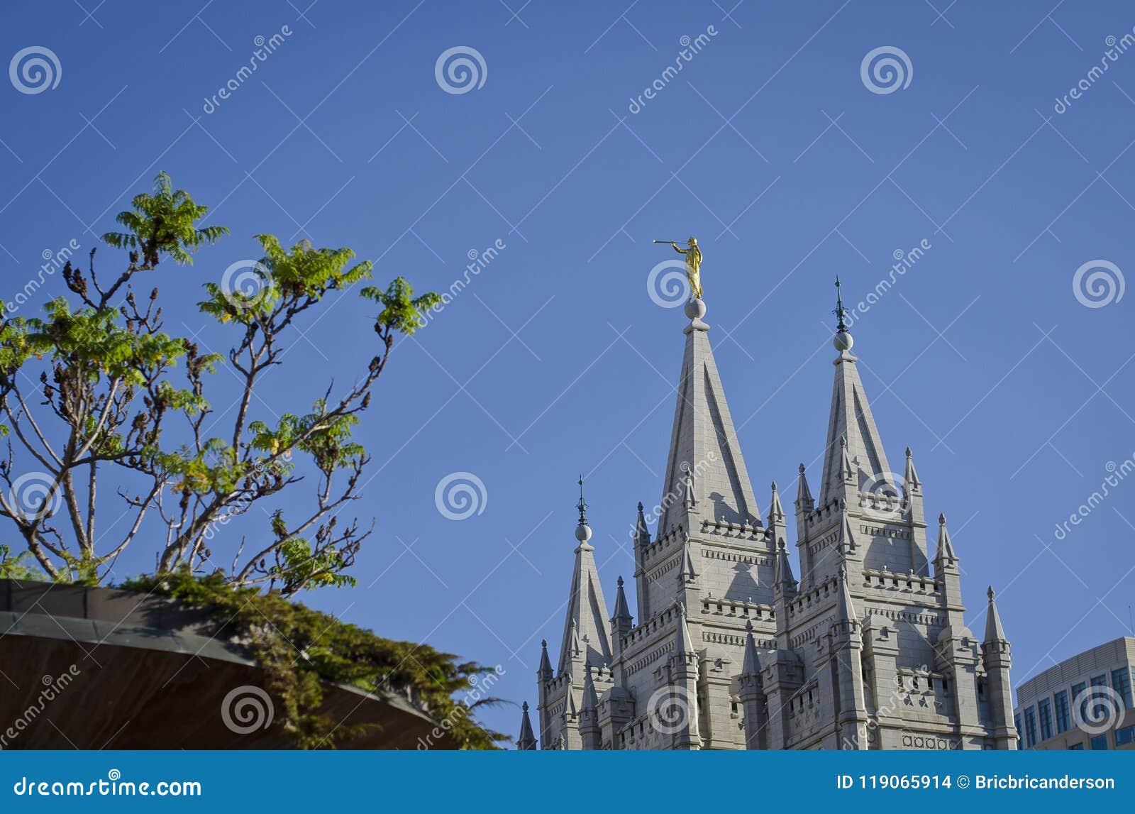 O quadrado do templo de Salt Lake City