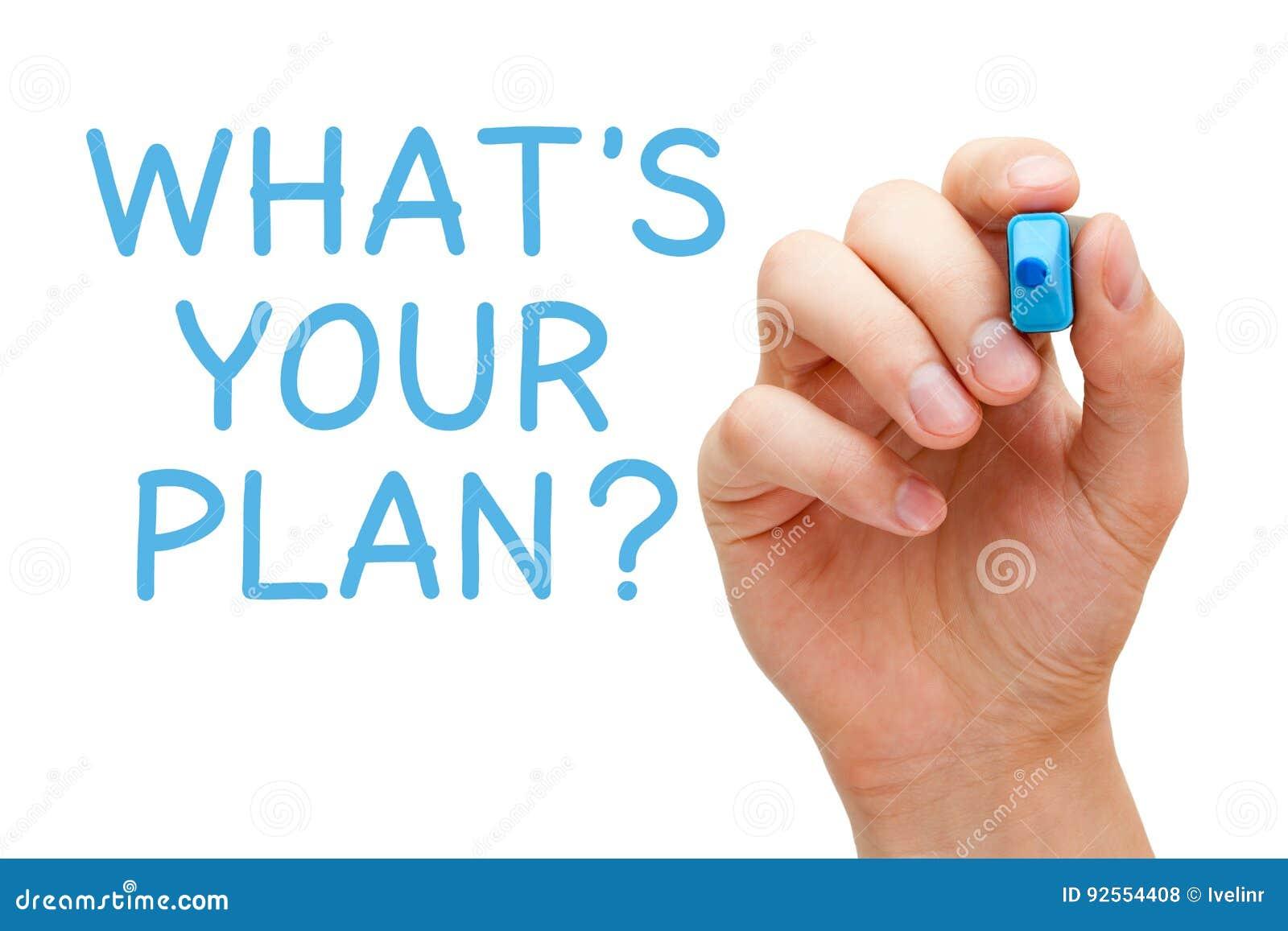 O que é seu plano