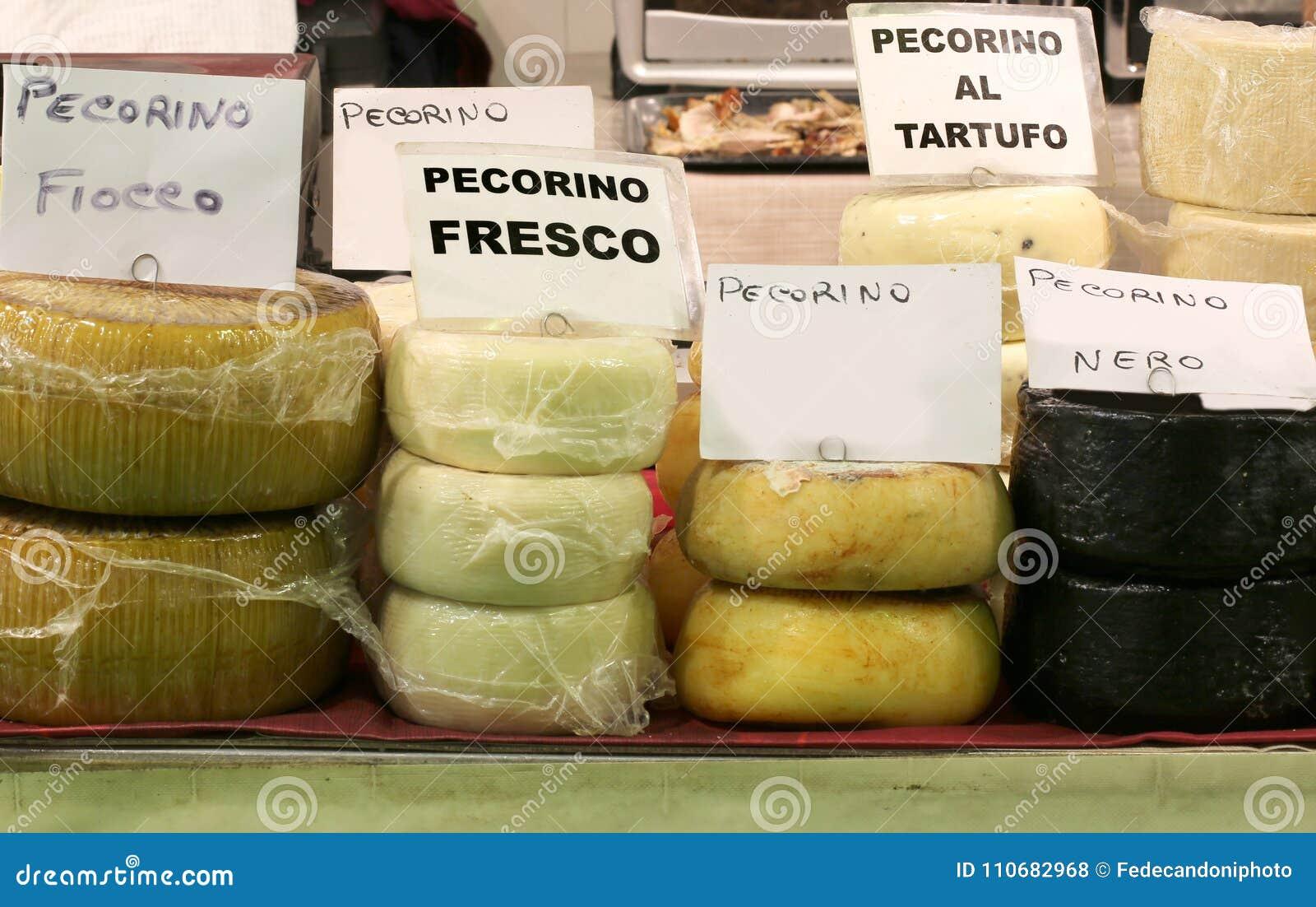 O queijo italiano gosta do FRESCO de PECORINO que significa o queijo feito com