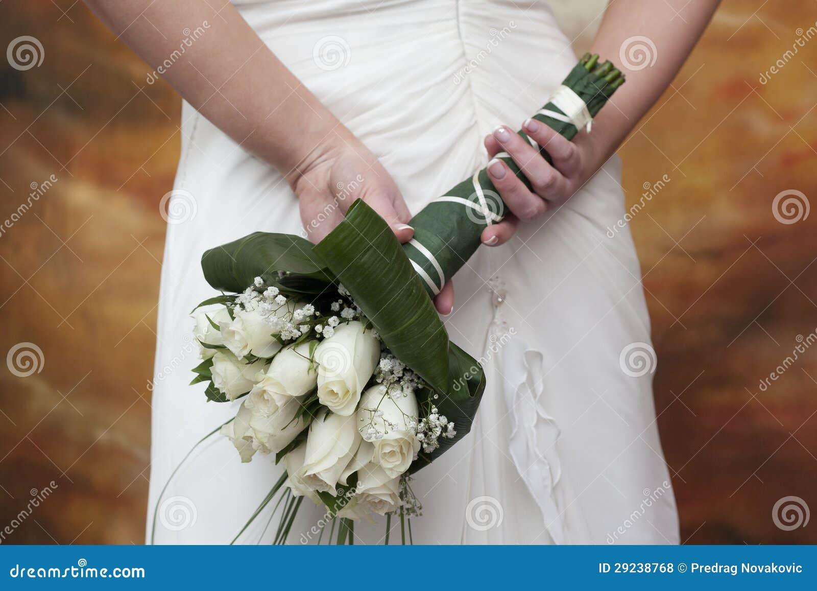 Download O ramalhete da noiva foto de stock. Imagem de bouquet - 29238768