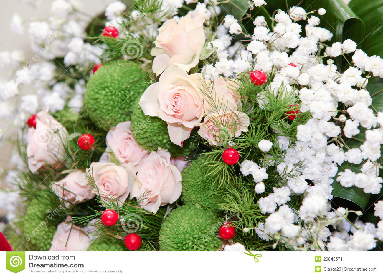 Ramalhete do casamento das rosas do pêssego