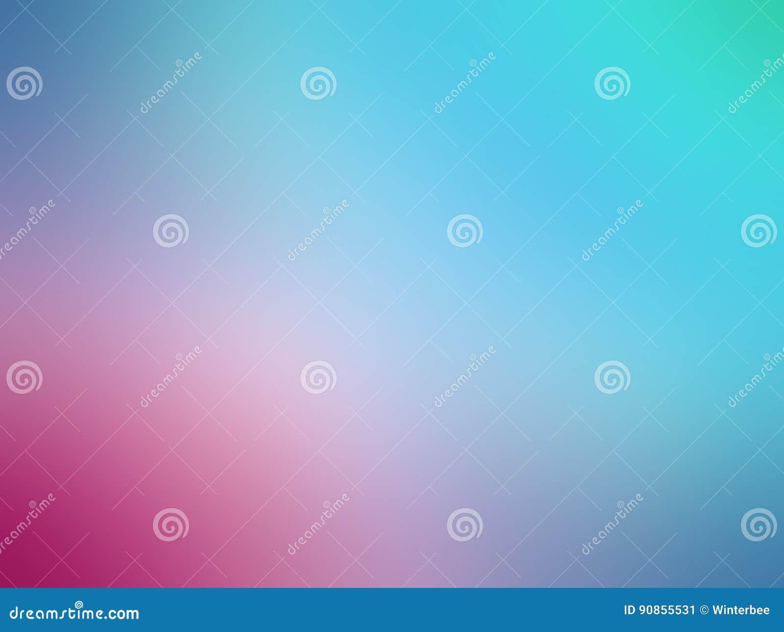 O rosa azul do inclinação abstrato coloriu o fundo borrado