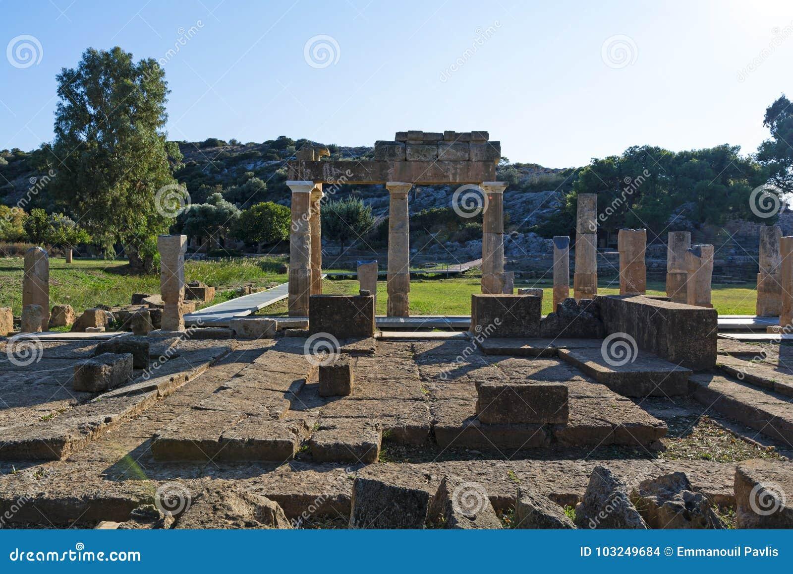 O santuário de Artemis em Brauron, Attica - Grécia