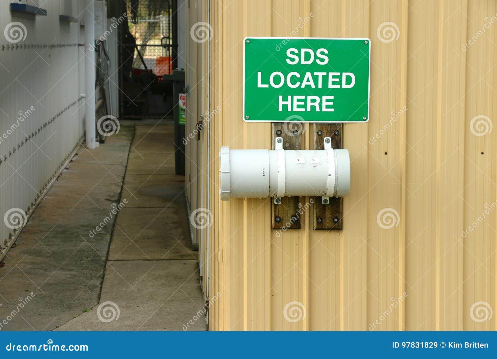 O SDS verde e branco encontrou aqui o sinal