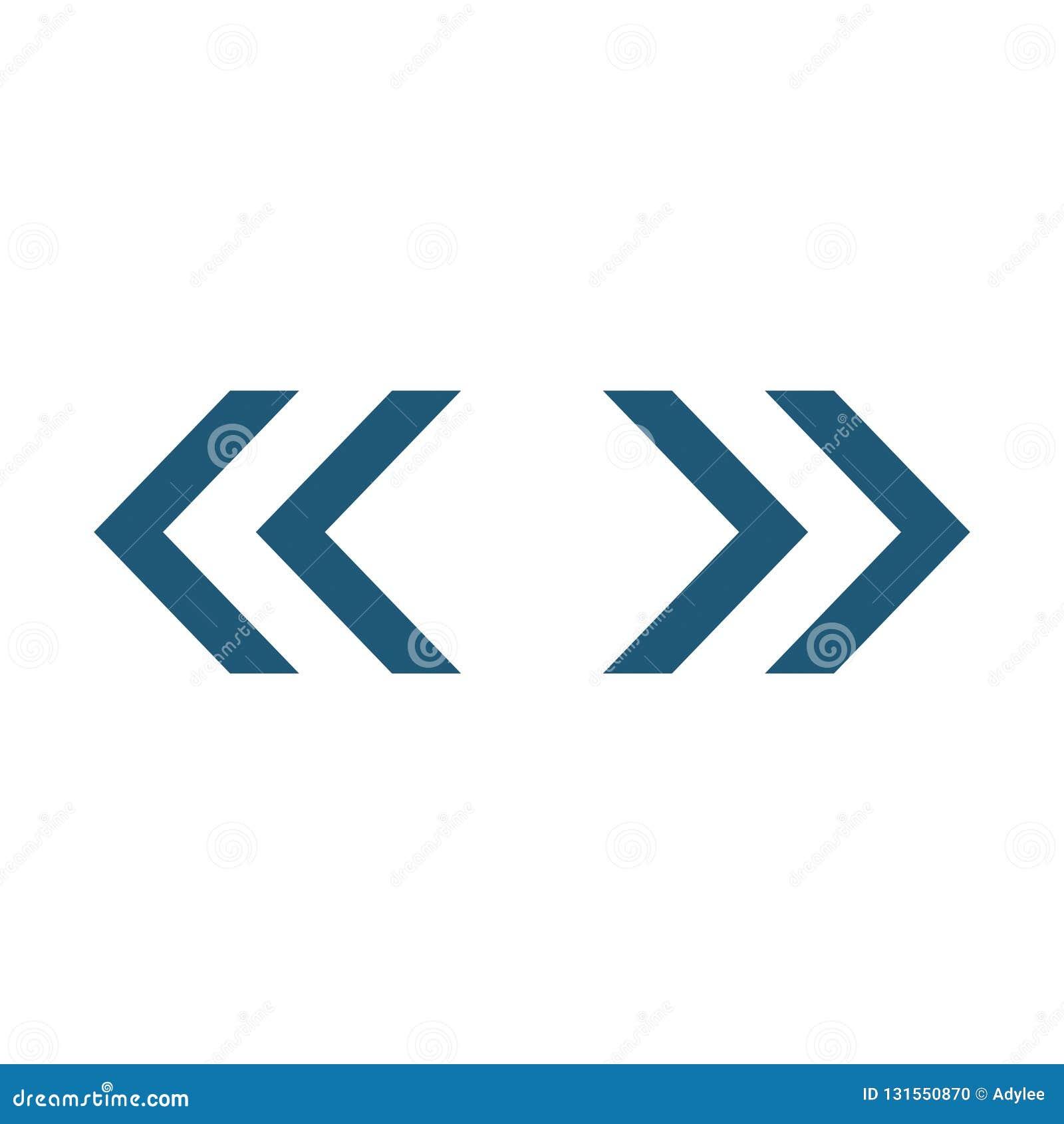 O sentido das setas dois do vetor recarrega o ícone 6