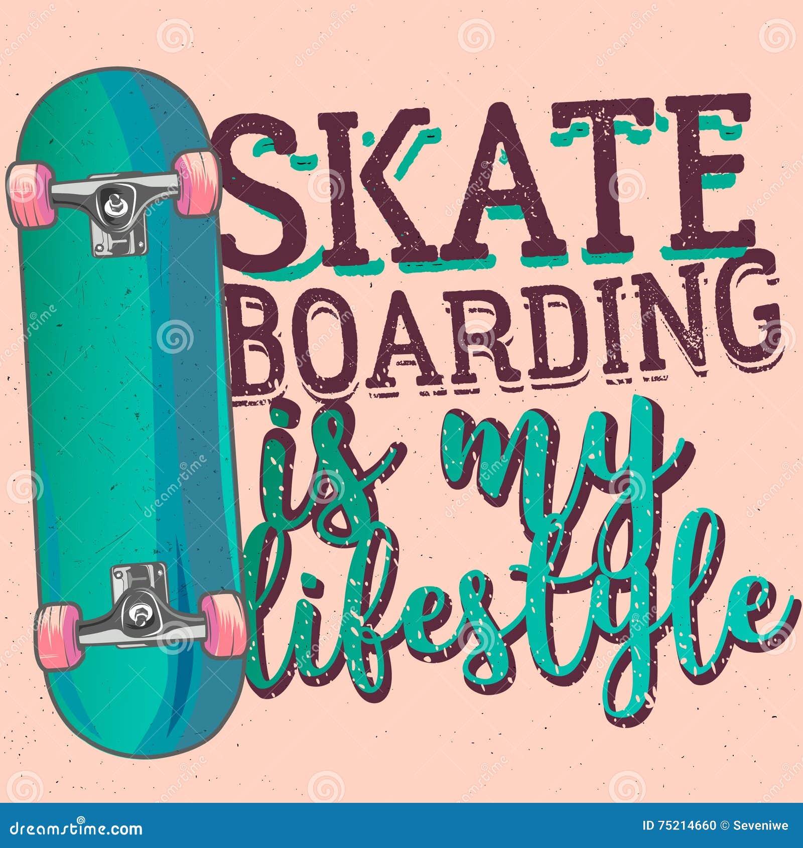 O Skateboarding é meu liferstyle