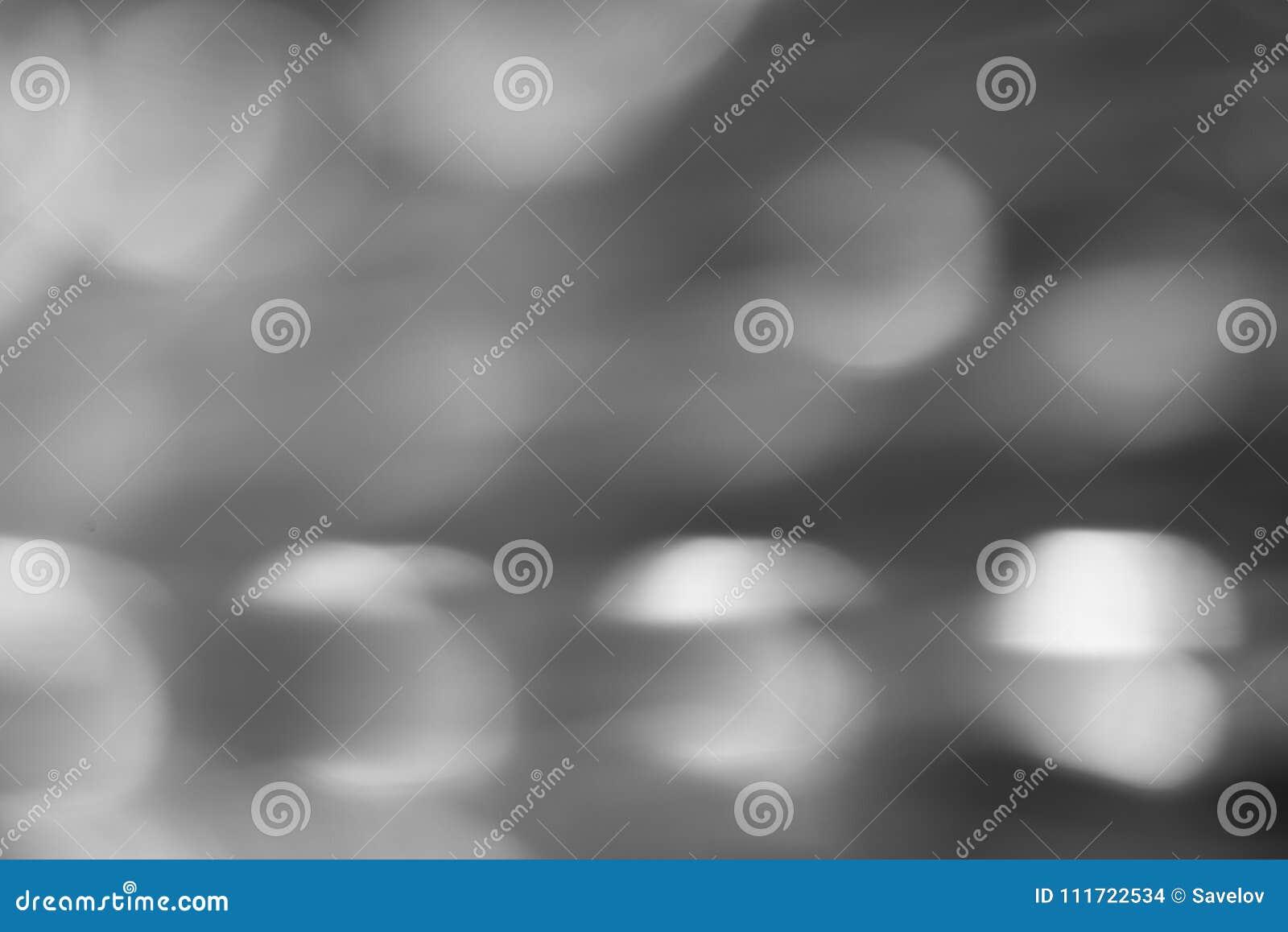 O sumário borrou o fundo preto e branco com círculos, foto