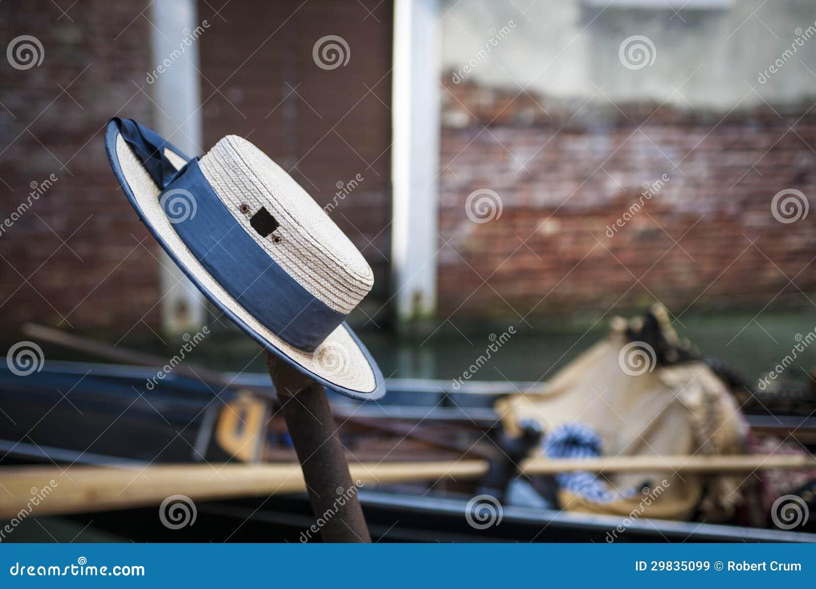 O tampão do gondoleiro, Veneza, Itália
