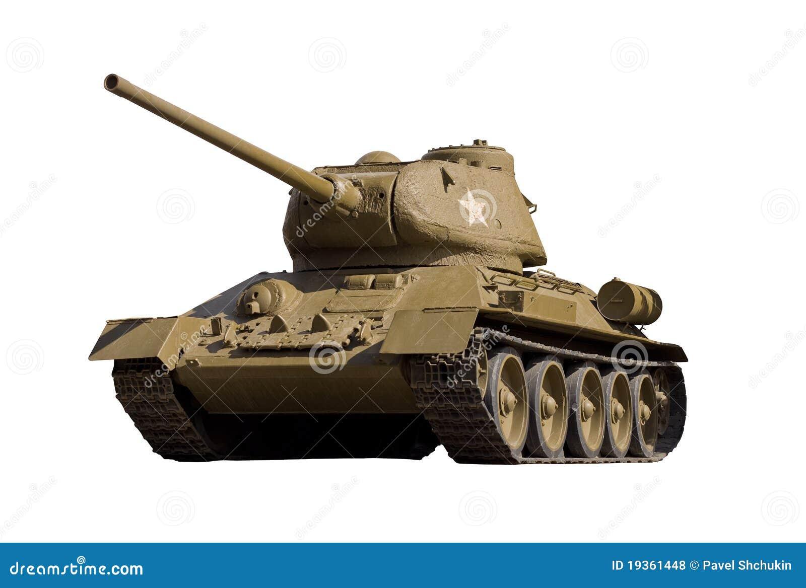 O tanque soviético T-34-85