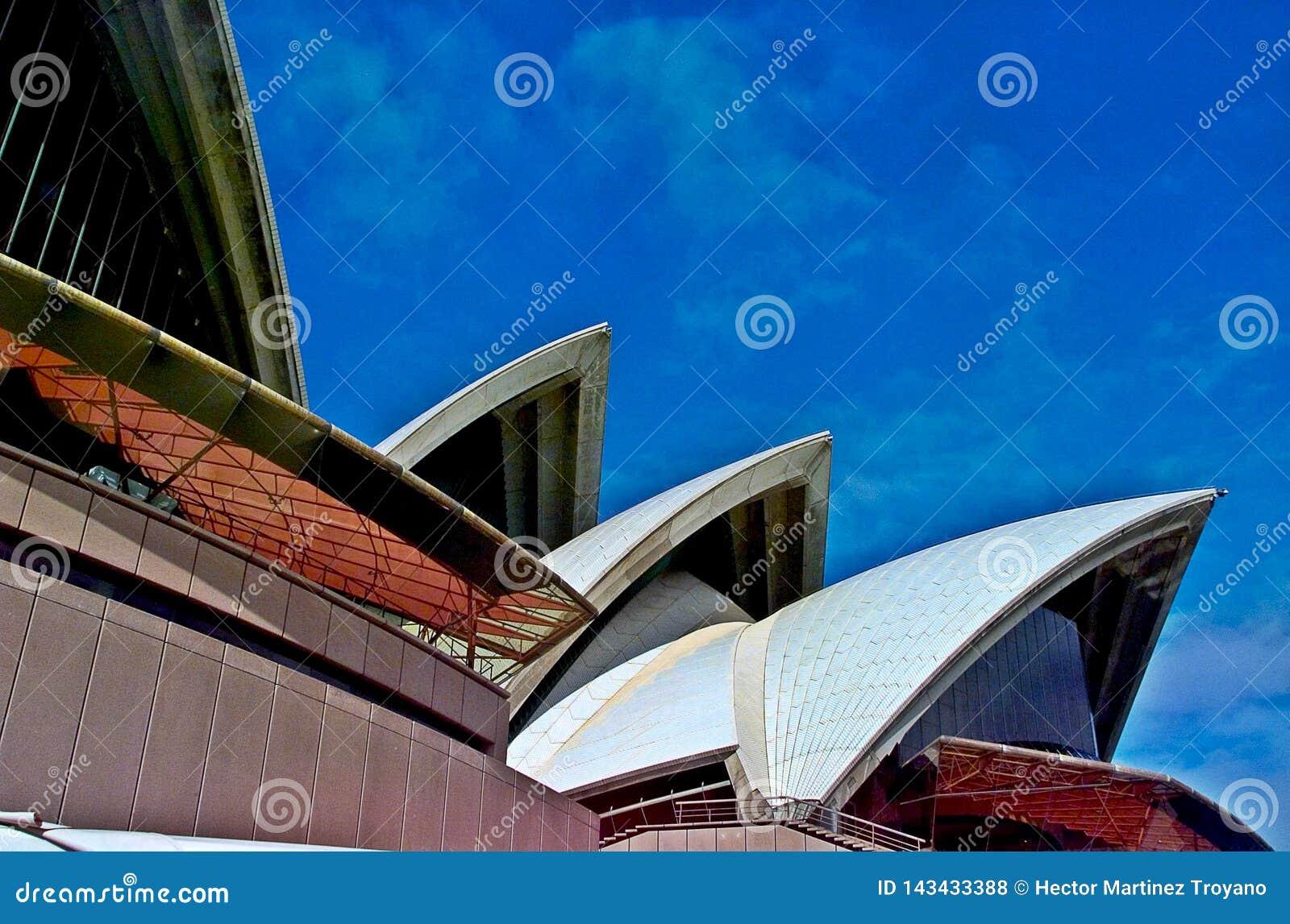 O teatro da ópera de Sydney