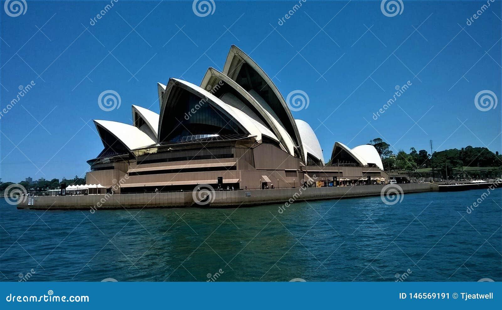 O teatro da ópera Sydney Australia