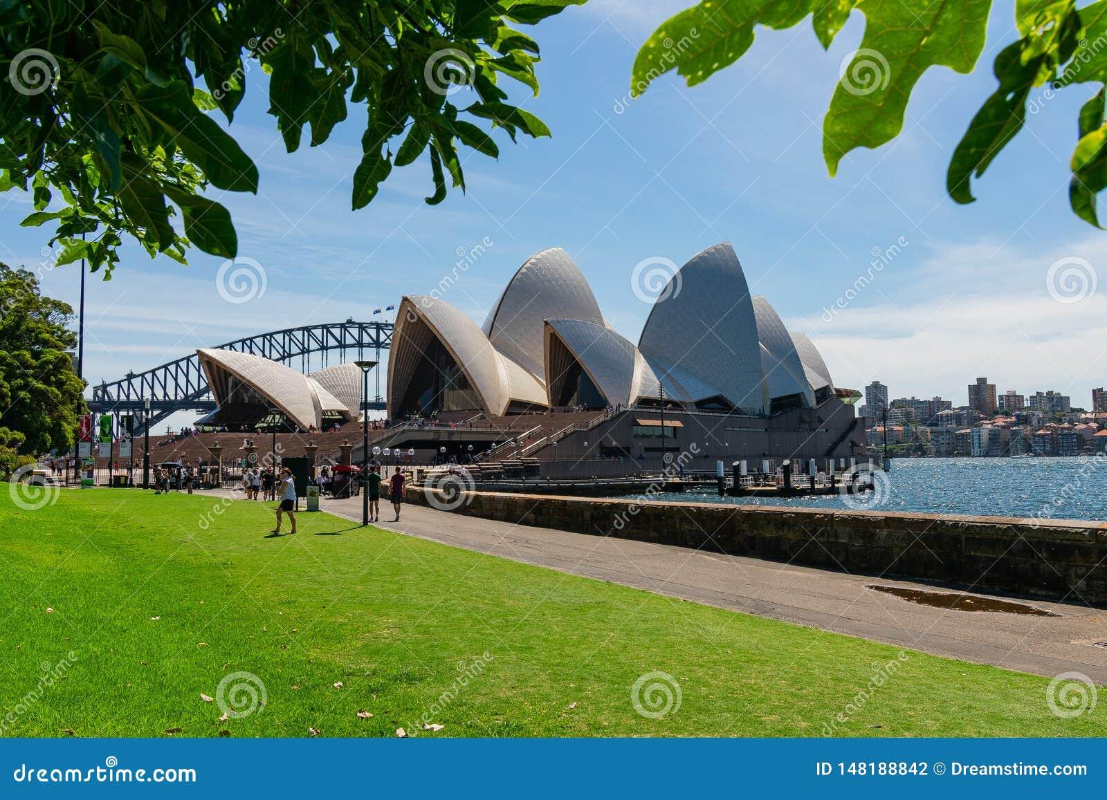 O teatro da ópera Sydney