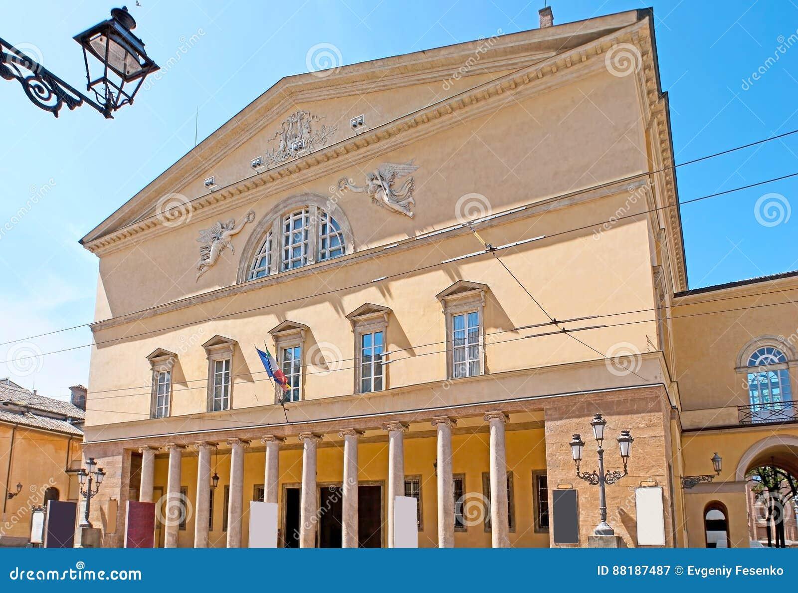 O Teatro REGIO em Parma