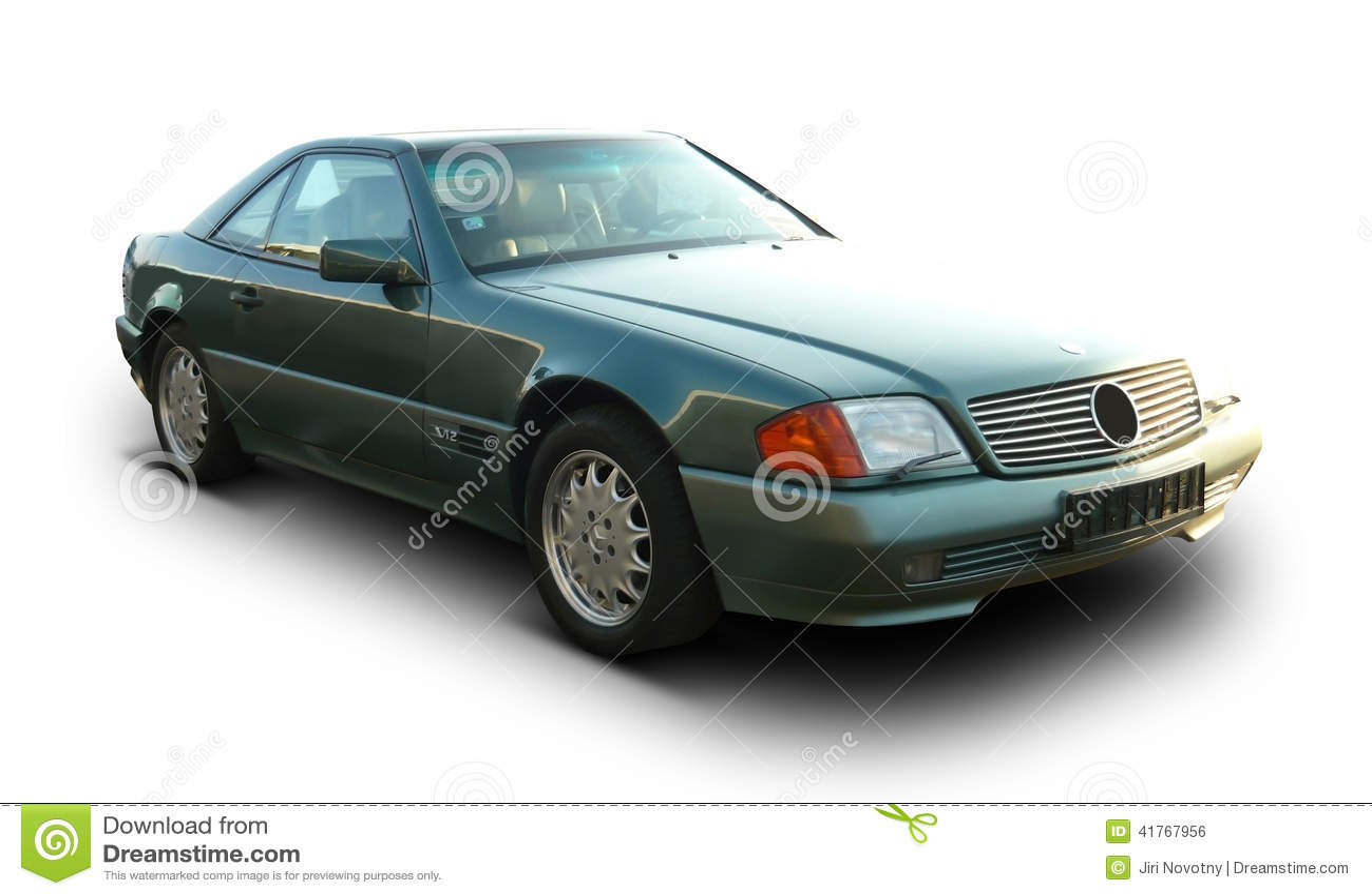 O tempo velho Mercedes