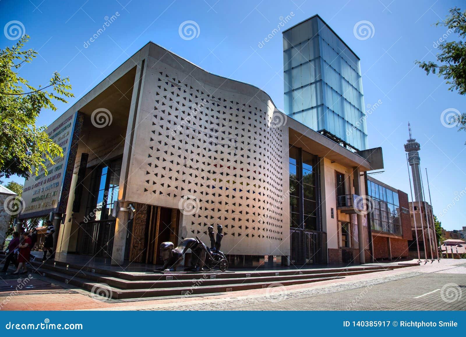 O Tribunal Constitucional em Joanesburgo