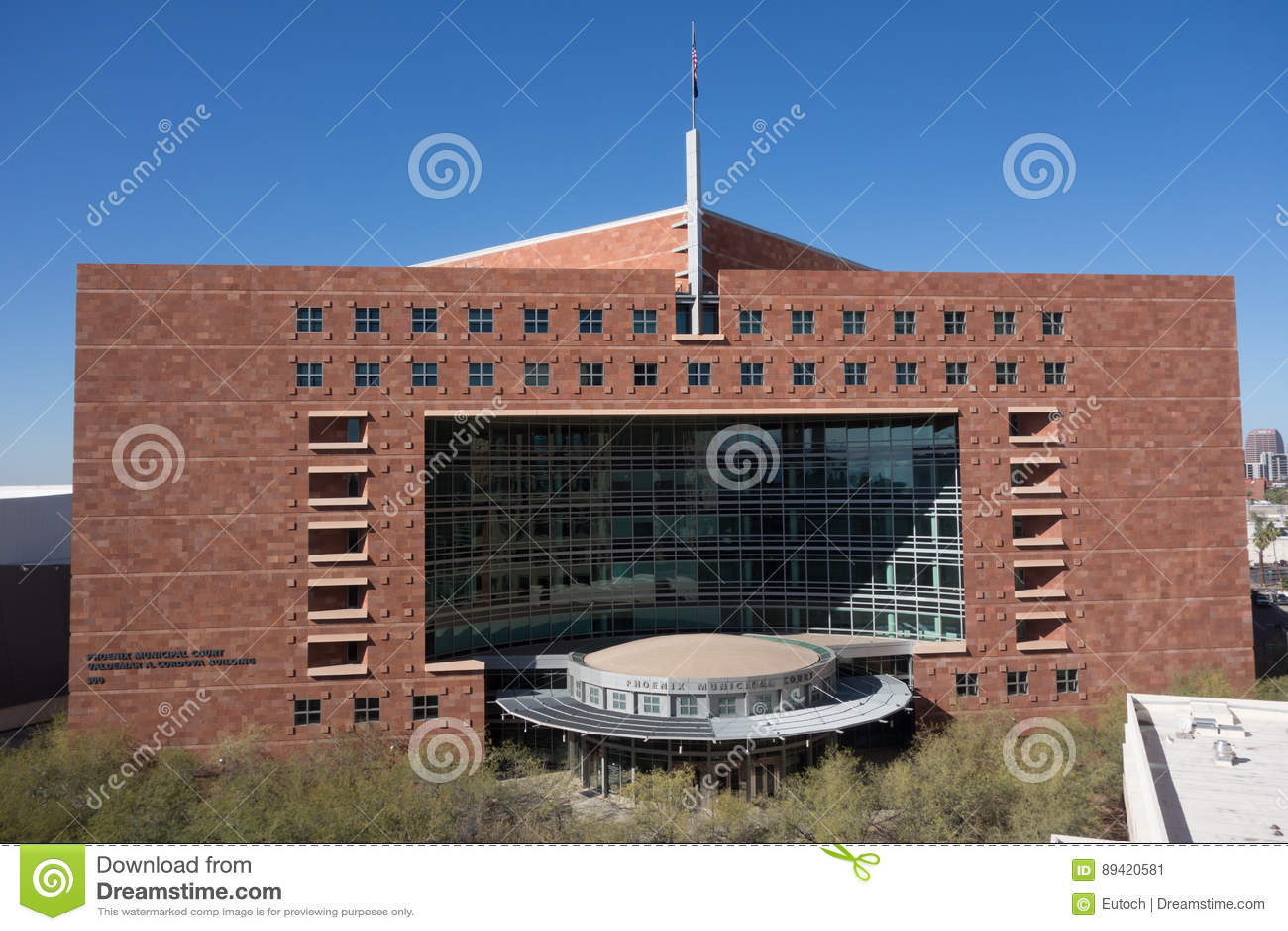 O tribunal municipal de Phoenix, AZ