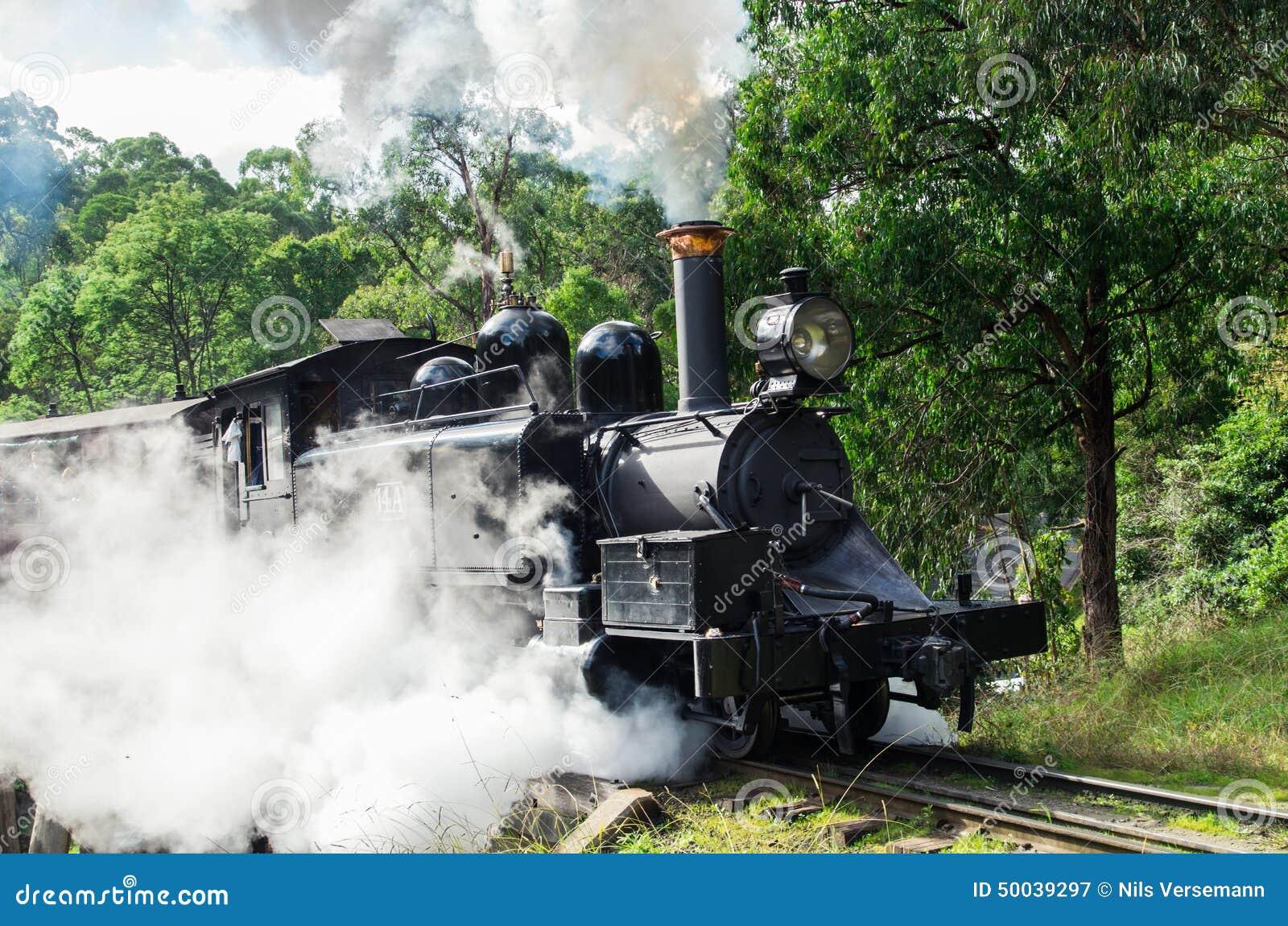O vapor de sopro de Billy treina nas escalas de Dandenong