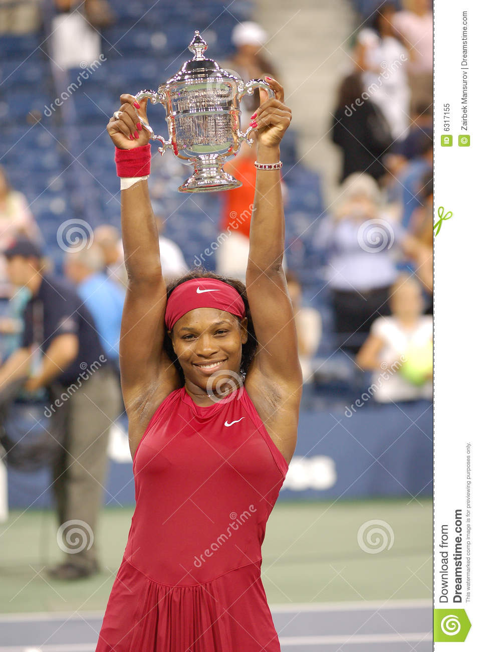 O vencedor de Williams Serena dos E.U. abre 2008 (6)