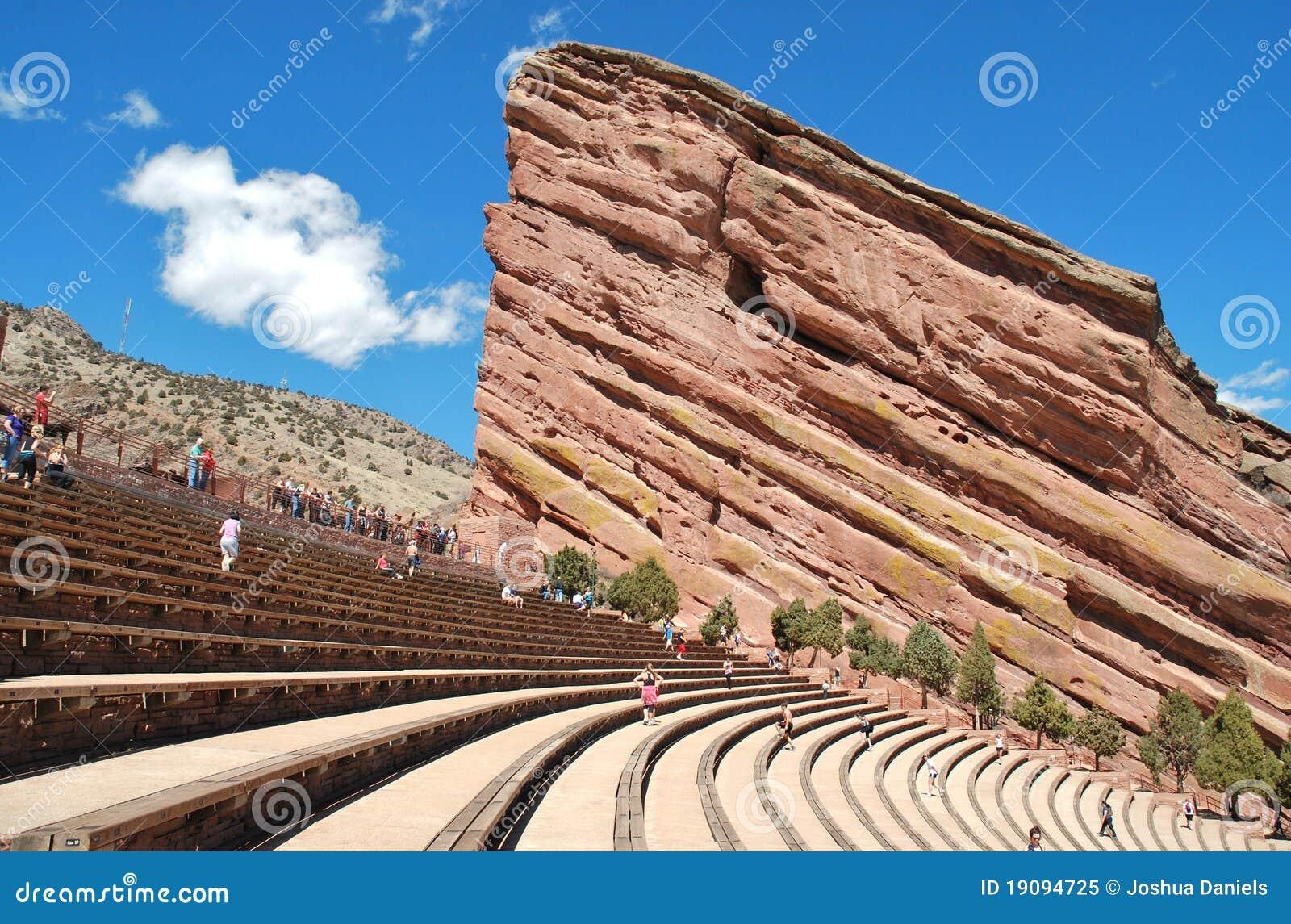 O vermelho balanç o Amphitheatre II